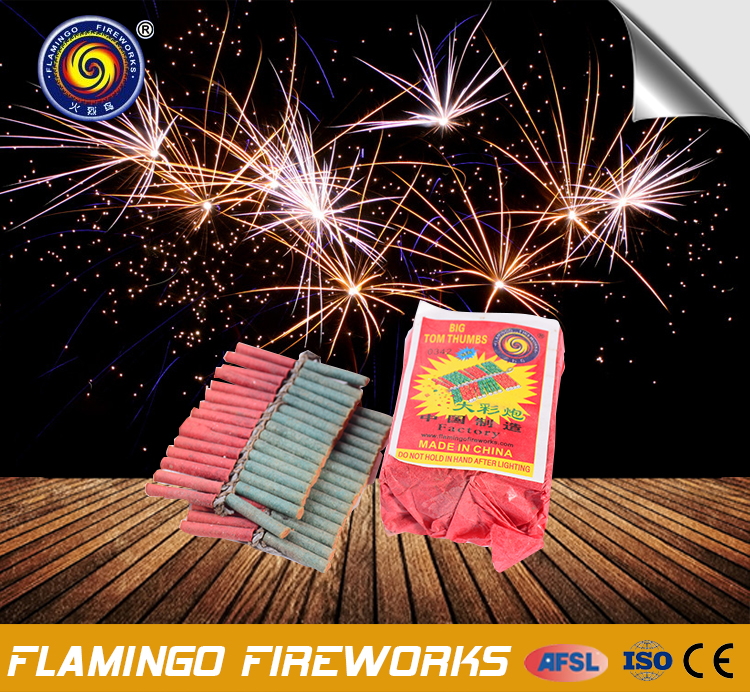 Best selling items Big Tom Thumbs mini firecrackers