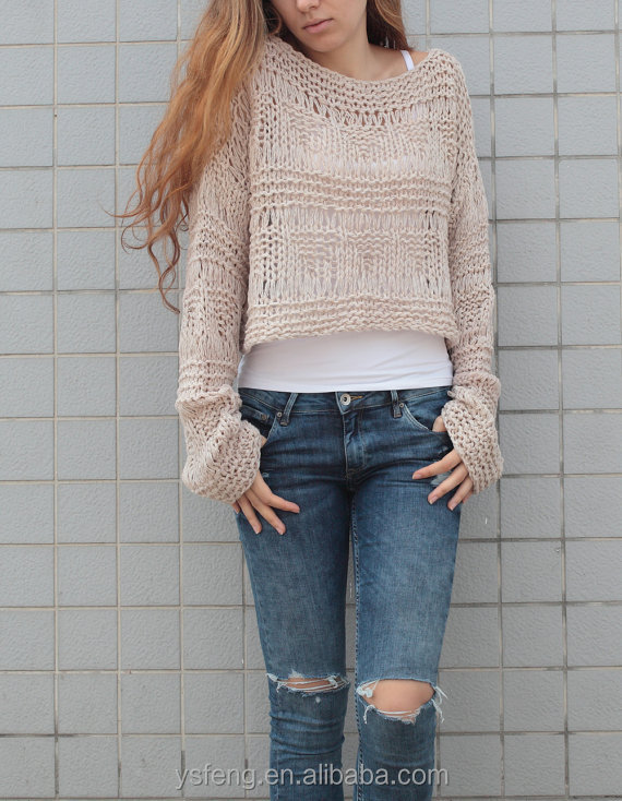 New Fashion Handmade Sweater Design For Girl
