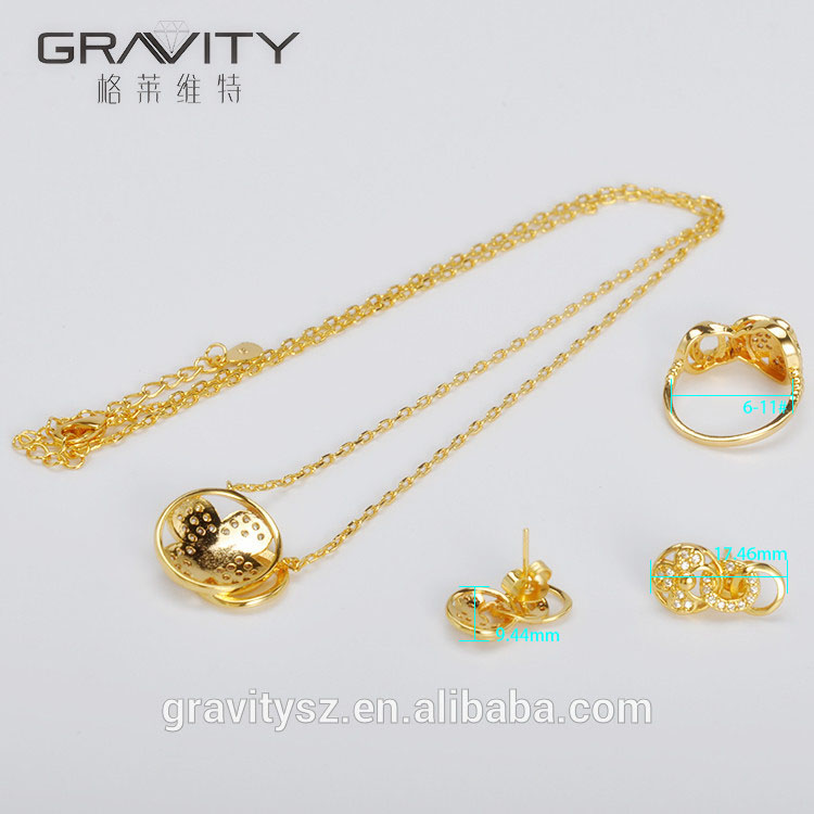 Hot selling imitation saudi dubai imitation jewelry, 24k jewellery sets gold plated