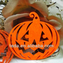 artificial felt pumpkins to decorate