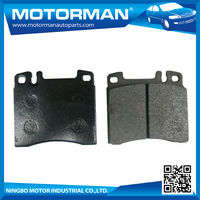 MOTORMAN Free Sample Available 100% tested high performance china brake pad D163-7090 for BMW 5/6/7 SERIES