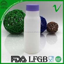 165ml HDPE empty disposable drinking plastic bottle milk