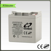 China supplier highquality cheap MF rechargeable storage 12v 24ah gel battery