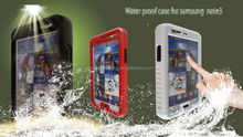 All button available Waterproof Case for Samsung Galaxy Note 3 III N9000 N9005