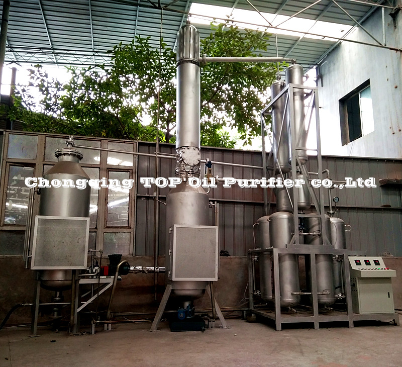 Series EOS Specially Designed Waste Cars Oil Recycling/Automobile Oils Regeneration/Oil Distillation Plant Oil Purifier
