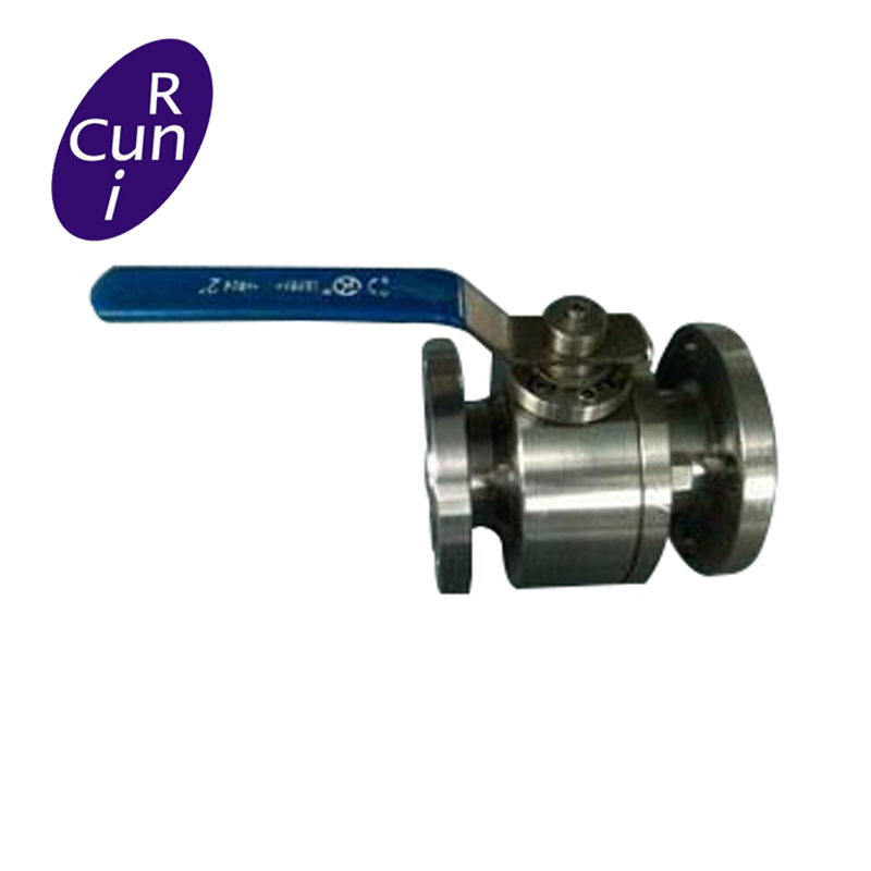 API 6D WCB/CF8 RF/RTJ/BW Trunnion ball valve with Lever or Gear Operated