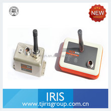 Wireless transmission type dual-axis inclinometer for industrial control