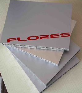 10mm aluminium honeycomb composite panel