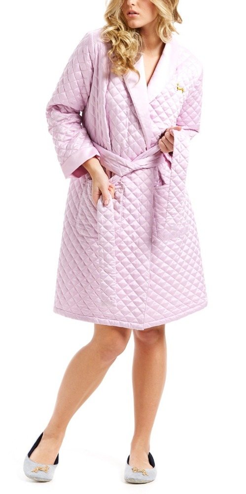Women's Quilted Midcalf House coat-Soft-Wholesale-One piece