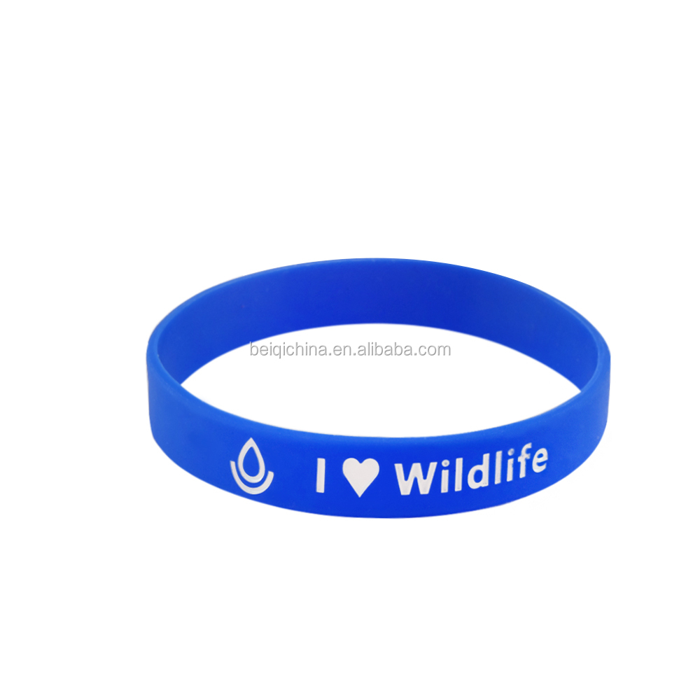 factory supply promotional gifts make your own rubber wristbands