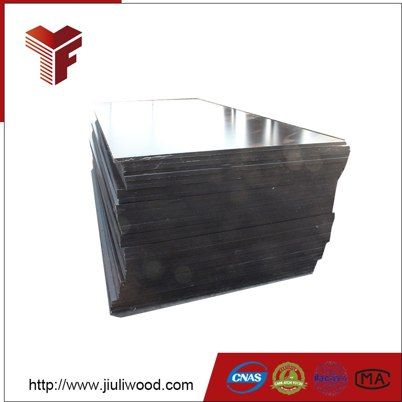 3mm pine black film faced shuttering plywood for construction with good price