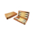 Personalized Wooden Lucite Backgammon Luxury
