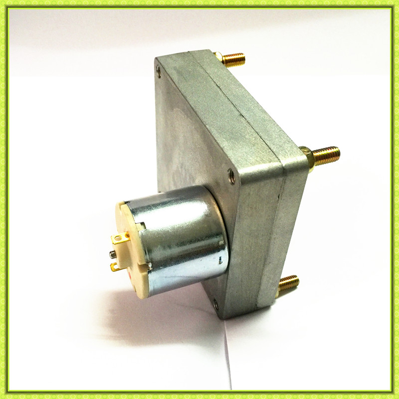 Low rpm flat gearbox 12v 24v dc motor for coffee roasting machine