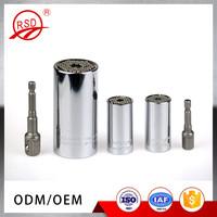 China good quality in stock 7-19mm 1/4''-3/4'' etc-200mo magic gator grip universal socket 2pcs set