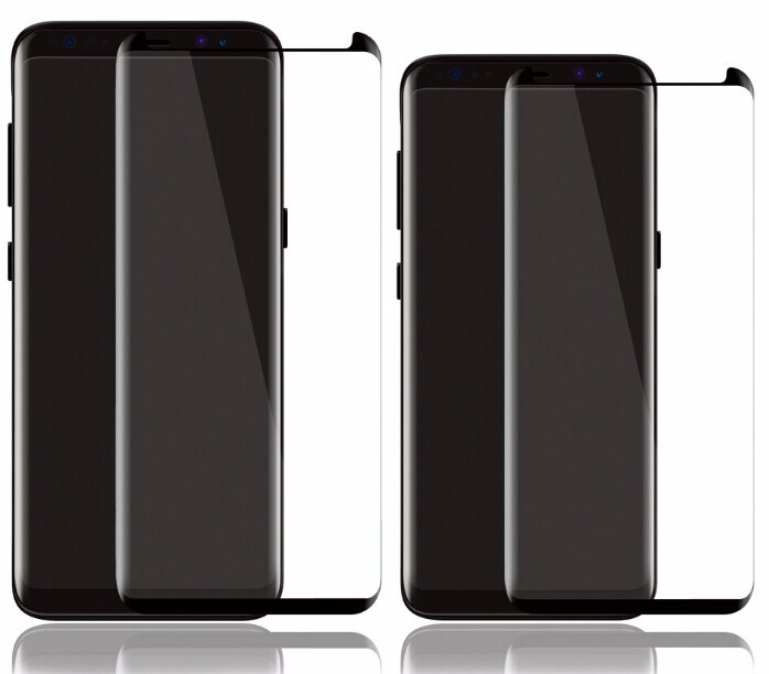 Full Cover 3D Curved For Samsung Galaxy s8 Tempered Glass Screen Protector For s8 Plus
