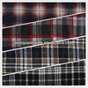 cotton t/c blue red black white check pattern printed flannel shirt fabric for nepal