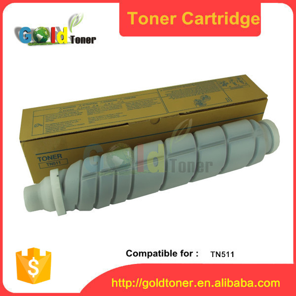 TN511 black toner cartridge for Konica Minolta
