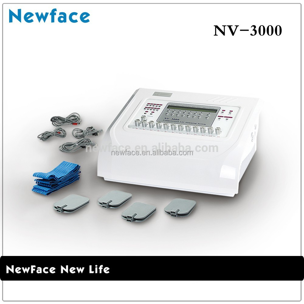 NV-3000 ems muscle stimulator with touch screen physiotherapy equipment