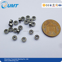 GCR15 miniature ball bearing 609 ZZ 9 x 24 x 7 mm for electric motor