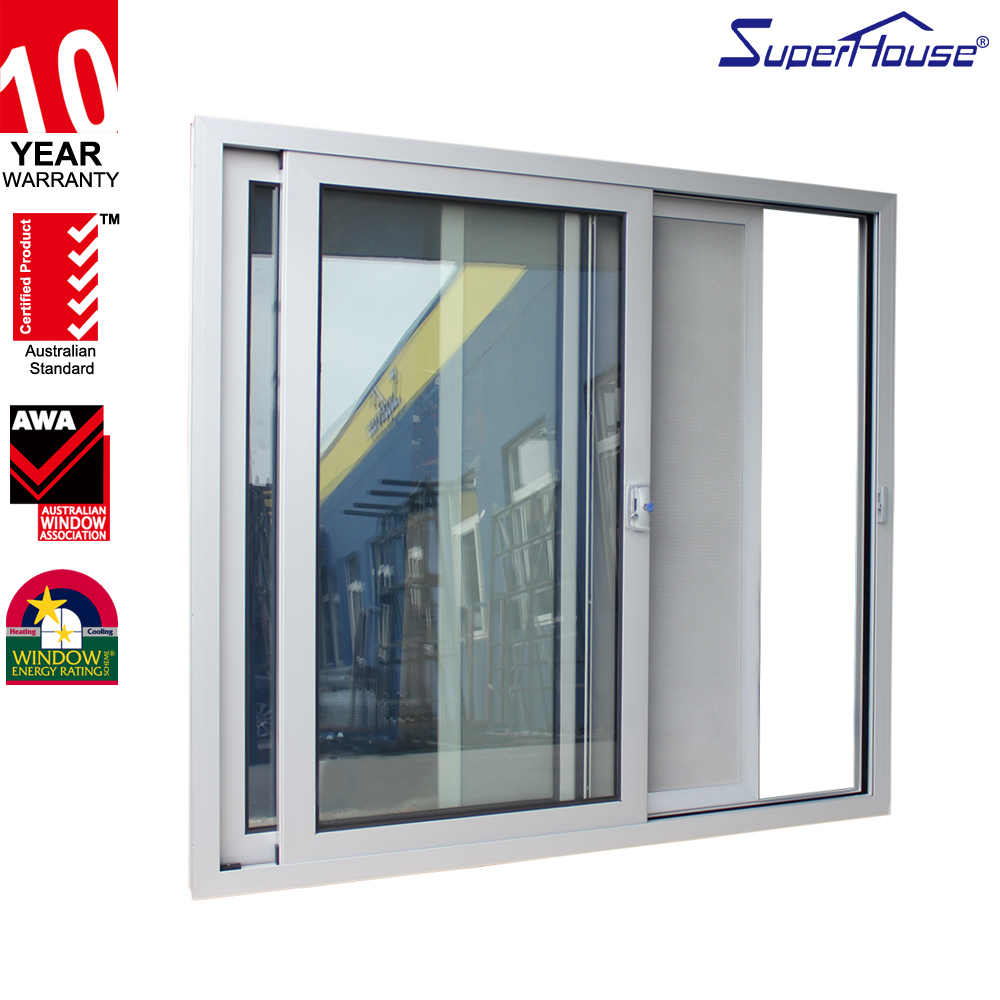 Strong and durable AS2047 standard security mesh aluminium room door