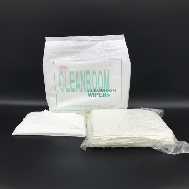 "120gsm Basic Weight Clean Room 12"" Polyester Wipe"