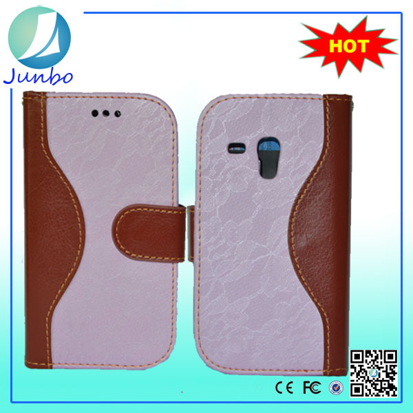 Classical Smart Leather Shockproof Case for samsung galaxy s3 mini