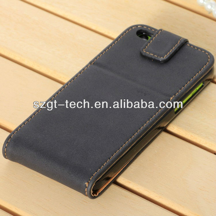 New Stylish PU Leather Flip Wallet Case Cover for IPhone5C