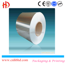 Printed/color aluminum foil paper for cigarette packing