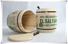 Good Quality Wooden Jar for Packing Tea, Coffee or Candy