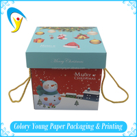 Custom Printed Recycled Corrugated Paper Box