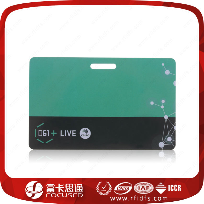 13.56Mhz hard plastic business rfid card maker
