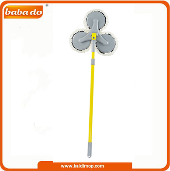 microfiber flat mop witn novel design