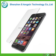 Elongsin best quality 9H hardness anti-scratch tempered glass screen protector for iphone 6 6s