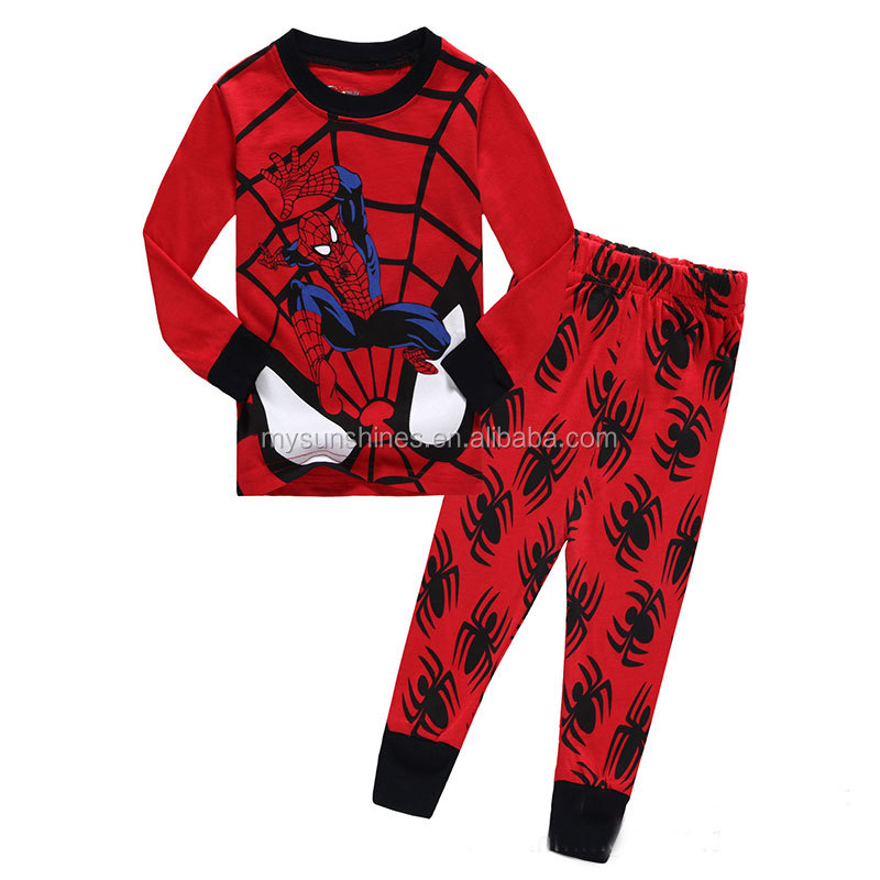Wholesale Baby Kids Child pyjamas Pijama Kids Pajamas Cartoon Kids Sleepwear