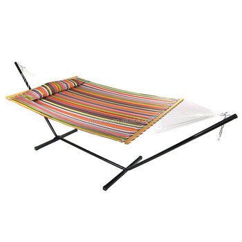 HR Quilted Double Hammock With Pillow