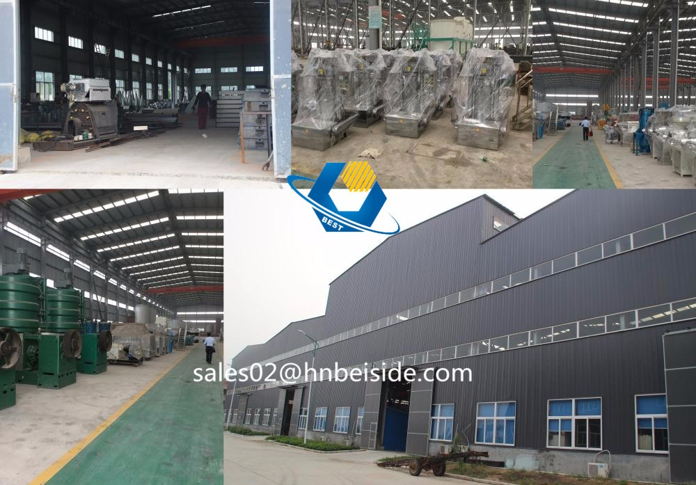 commercial high oil output crude palm oil factory for sale