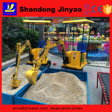 entertainment equipment for children, play equipment for children, mini excavator