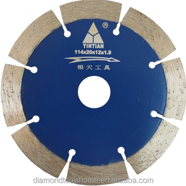 Yintian hot pressed cutting disc diamond cutting saw <strong>blade</strong> for stone