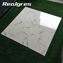Polished Faux Artificial Marble 8x8 Victorian Modern Floor Tiles
