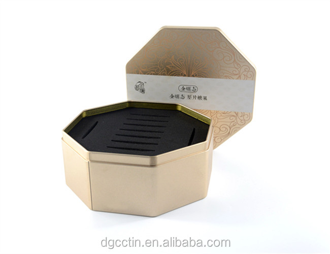 Health Products Rectangular tin box for packaging