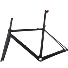 OEM Ultralight Toray T800 Bike Frame 700C DI2 Cycling Road Carbon Frameset 2017