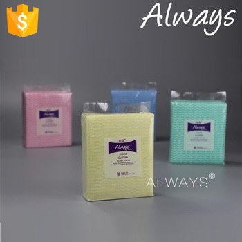 Spunlace nonwoven cleaning products High Quality Reusable Cleaning Cloth compressed wipes