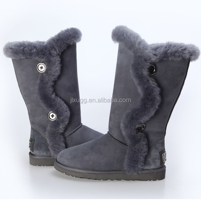JLX2016 Australian sheepskin wool-one, winter women boots,cheap snow boots