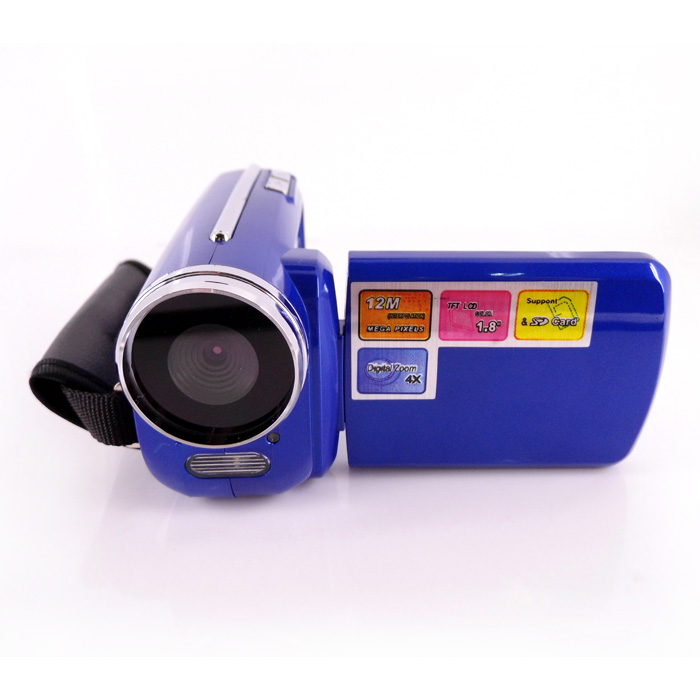 "Factory Price Mini Camcorder 1.8"" TFT LCD Display 320*240 30FPS Ultra Slim Video Cameras Digital SD Card Slot"