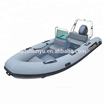 Rigid Hull Fiberglass Inflatable Boat Military For Sale