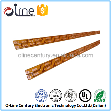 Wholesale 2 Layer 94vo Lead free flex led strip circuit boards