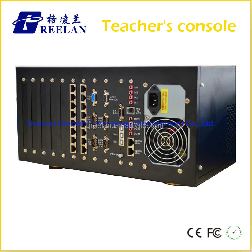 Foreign Teacher's Master Station Data Audio Data Switch for Language Laboratory