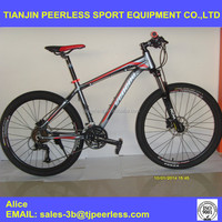 24 Speed high quality light frame full Suspension Aluminuml Mountain Bike