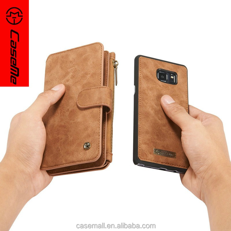 New released three color quality PU leather mobile cell phone case for samsung note 7, leather wallet for samsung note 7 case