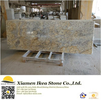Golden Flower Speckled Granite Countertops